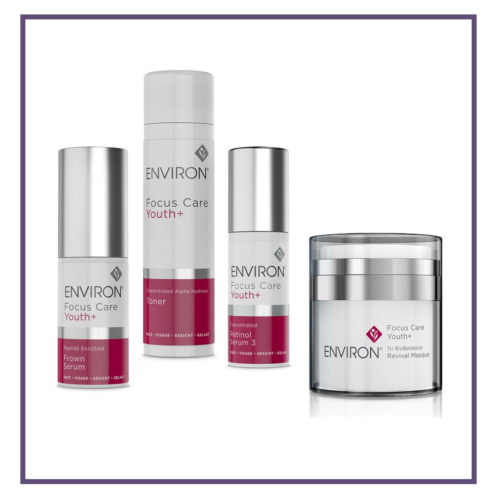 EnvironFocus Care Youth+ Range Public - Glam Beauty Salon