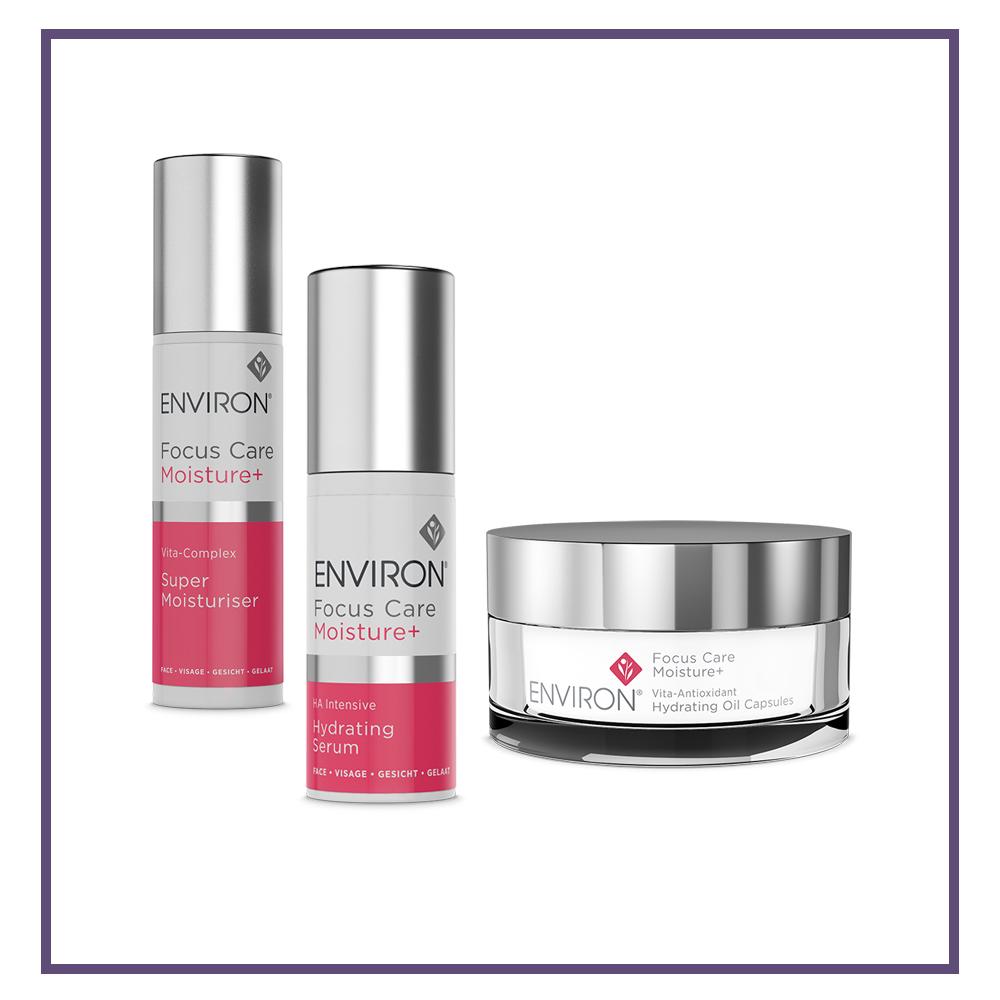 Environ Focus Care Moisture+ Range Client - Glam Beauty Salon