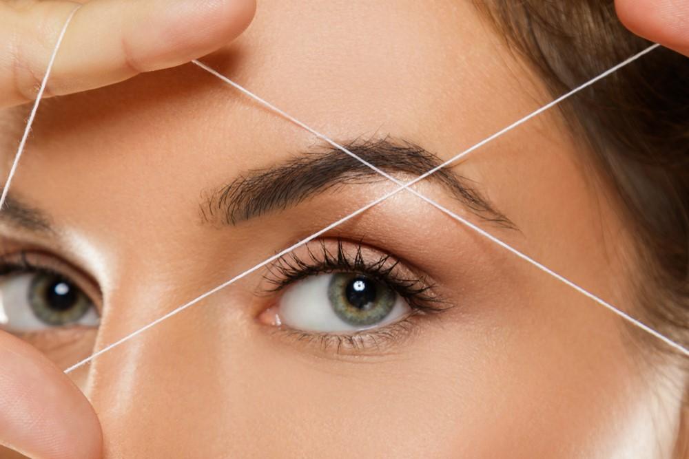 Eyebrow Threading - Glam Beauty Salon