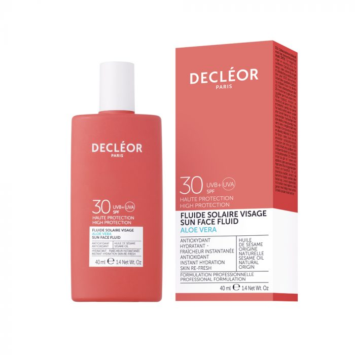 Aloe Vera Sun Face Fluid SPF 30 - Glam Beauty Salon