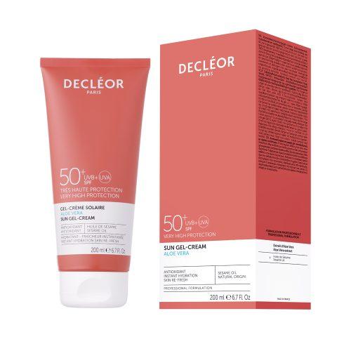 Aloe Vera Sun Gel Body Cream SPF 50 - Glam Beauty Salon