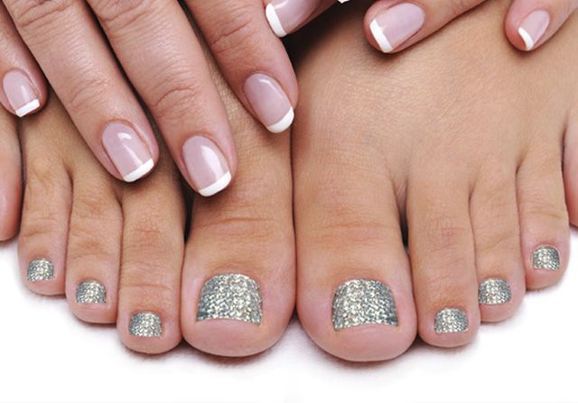Swarovski Crystal Pedicure - Glam Beauty Salon