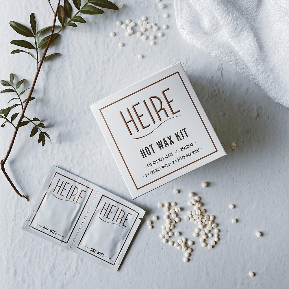 Heire Hot Wax Kit - Glam Beauty Salon