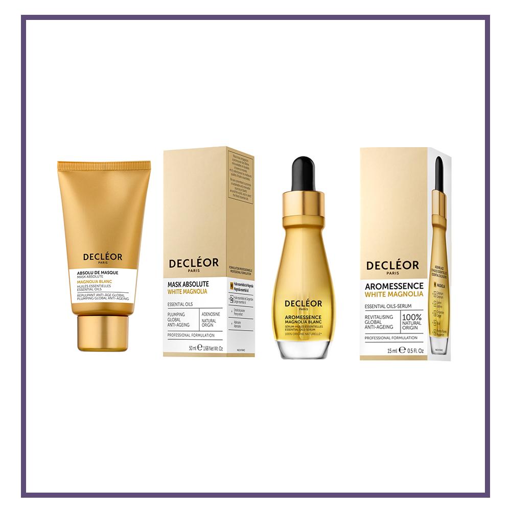 Decleor White Magnolia Range - Glam Beauty Salon