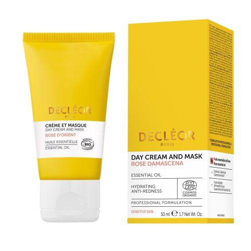 Organic Rose Damascena Soothing Day Cream & Mask - Glam Beauty Salon